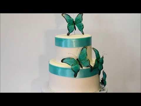 butterfly-theme-cake---tiffany-blue-theme-cake---wedding-cake
