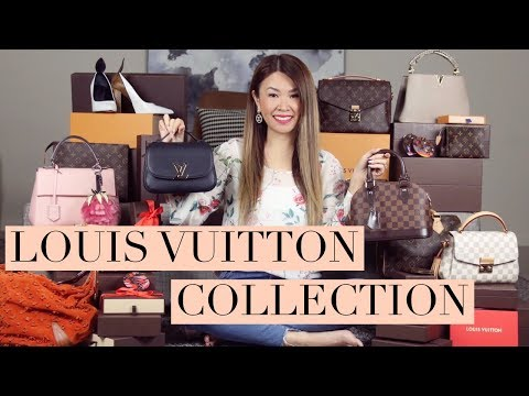 MY ENTIRE LOUIS VUITTON COLLECTION 2017 +...