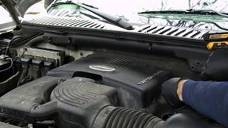 2003 ford expedition 5.4L misfire problem - bad coil - P0301