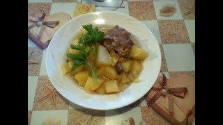Голень индейки. Как вкусно и просто приготовить индейку.#суфикс