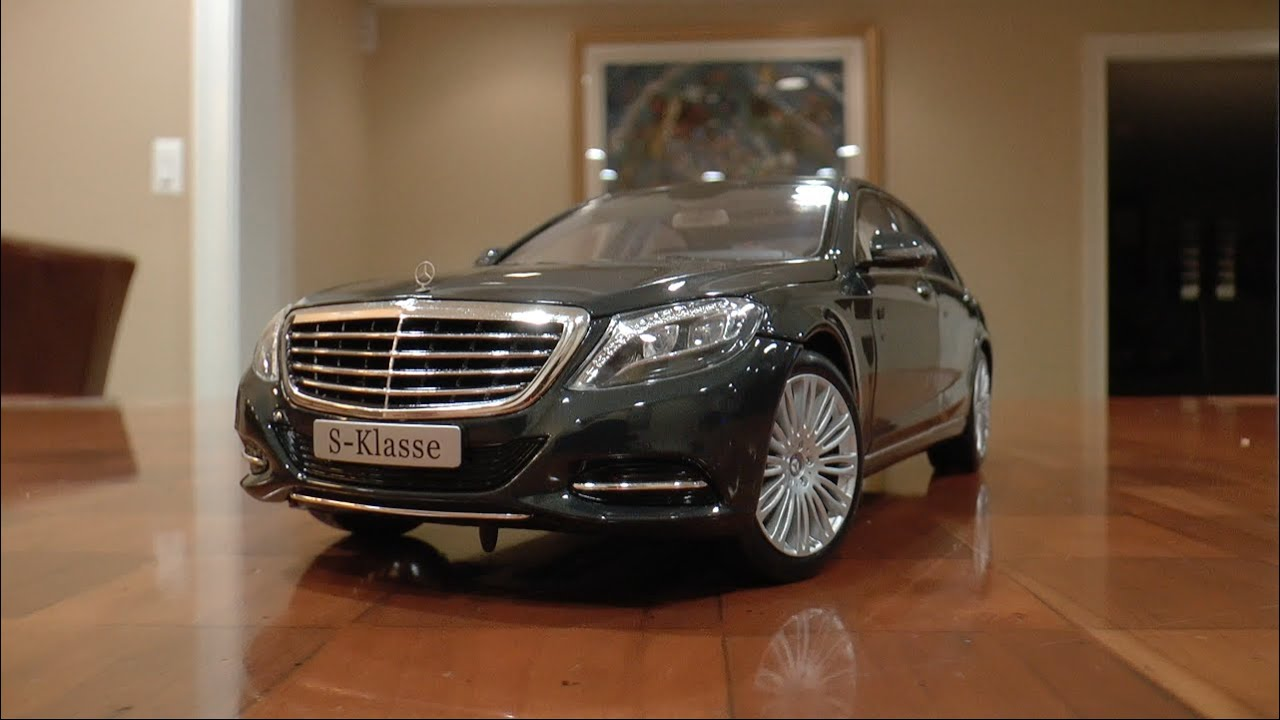 1:18 Norev Mercedes S Cl Review - YouTube on