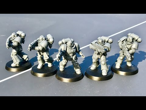 Primaris Space Marine Intercessor Squad A: Model, Build and Tactics Review for WH40K 8th Edition