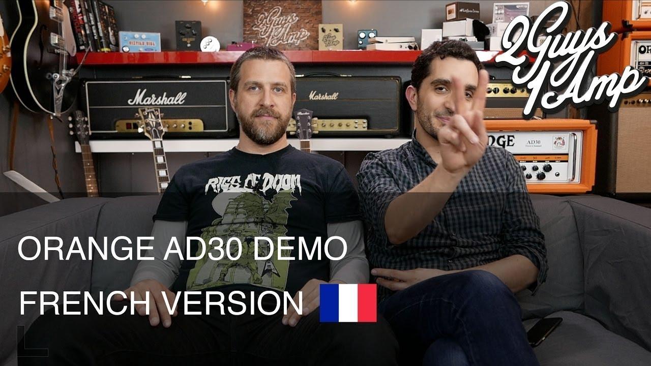 Orange AD30 - Démo d'ampli