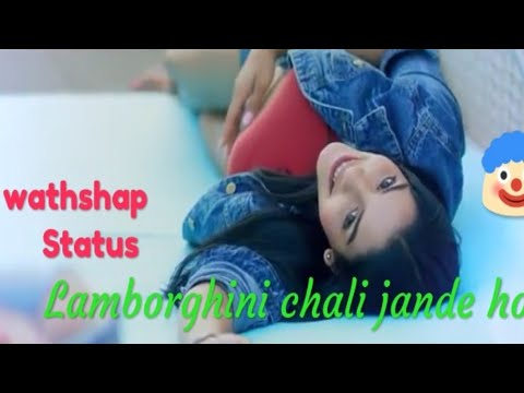 Lamborghini Chalai Jande Ho 😘 | The Doorbeen | Romantic (Love) 💖new Whatsapp Status