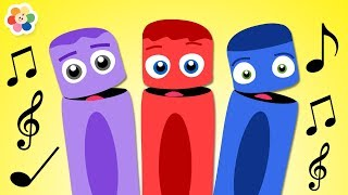 Learn Colors with Colorful Crayons | Color Crew Songs for Kids | Videos for Kids by BabyFirst thumbnail