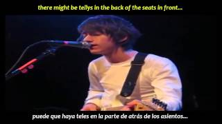 Arctic Monkeys - Despair in the departure lounge (inglés y español)