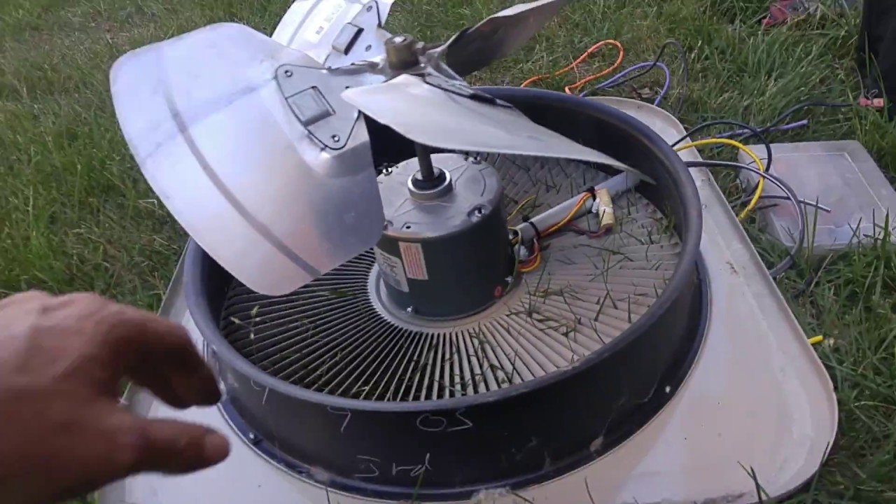 Condenser Fan Blade Placement Is Critical Youtube