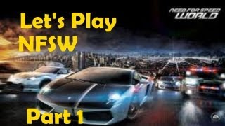 Let's play Need for Speed World Part 1