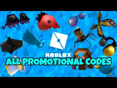 Roblox All Promotional Codes 2019 New Youtube