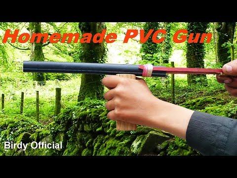 PVC Gun - How To Make A Gun Using PVC Pipe - Easy Homemade Gun That Shoots