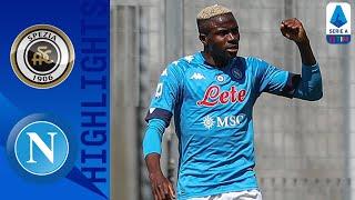 Spezia 1-4 Napoli | Poker spettacolo degli azzurri | Serie A TIM