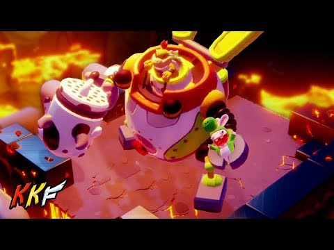 Co-op Challenge-Lava Pit: King of the Ring (2 Player) - Mario + Rabbids Kingdom Battle