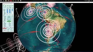 1/20/2019 -- Multiple Large earthquakes strike Pacific -- West Coast USA builds + releases