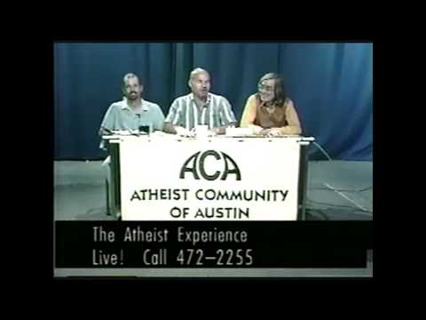 """Lost"" Atheist Experience #40 with Ray Blevins, Joe Zamecki, David Kent, and Don Rhoades"