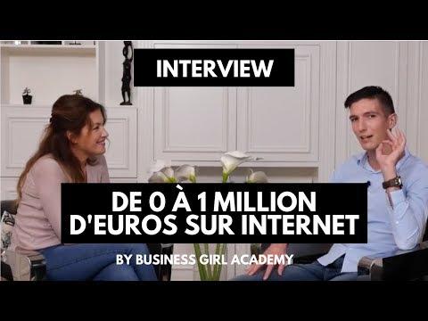 De 0 à 1 MILLION d'EUROS sur INTERNET ! Interview de Maxence RIGOTTIER