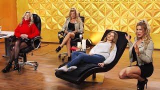 Auf dem Bürostuhl mal so richtig entspannen! Mit Vivien Konca bei PEARL TV (Februar 2019) 4K UHD