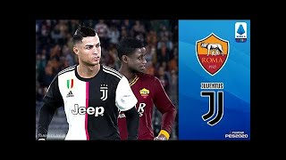 PES 2019 AS Roma vs Juventus | All Goals | Gameplay