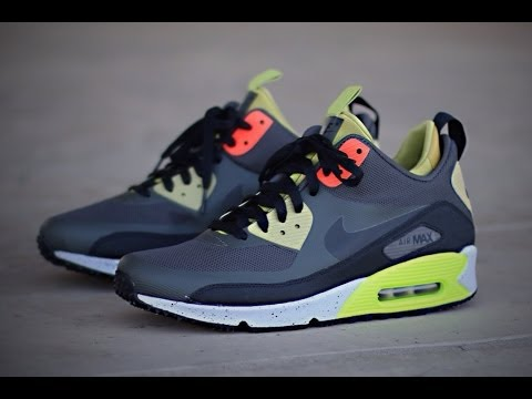new arrivals 921ca dcc24 ... Nike Air Max 90 Sneakerboot - NewsprintParachute Gold ...