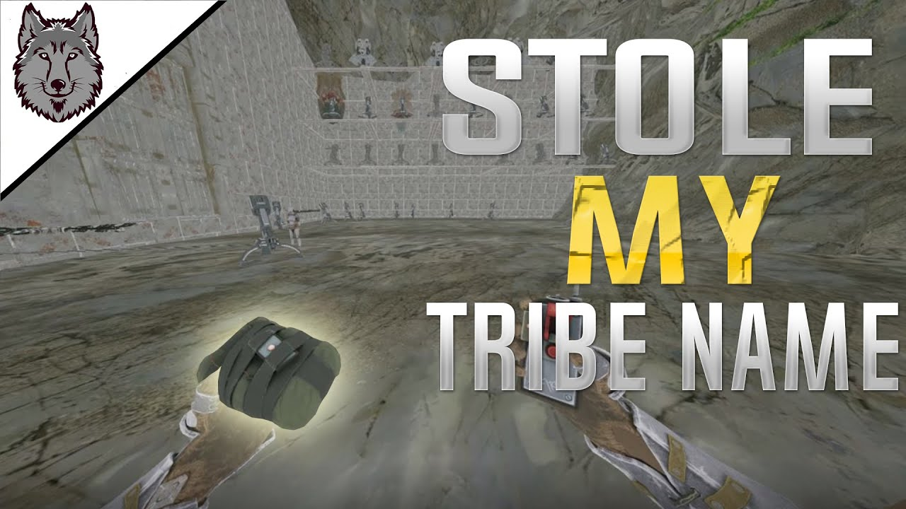 They Stole My Tribe Name? So We Wiped Them! - ARK Survival Evolved