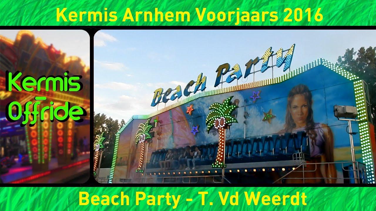 Beach Party T Vd Weerdt Offride Overdag Kermis Arnhem Voorjaars 2016