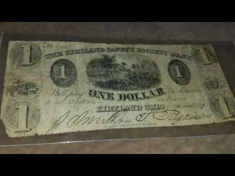 Kirtland Safety Society Bank Note - $1 - Antique/Collectible (Review)