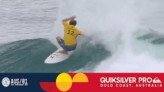 Florence vs. O'Leary vs. Wright - Quiksilver Pro Gold Coast 2017 Round One, Heat 6