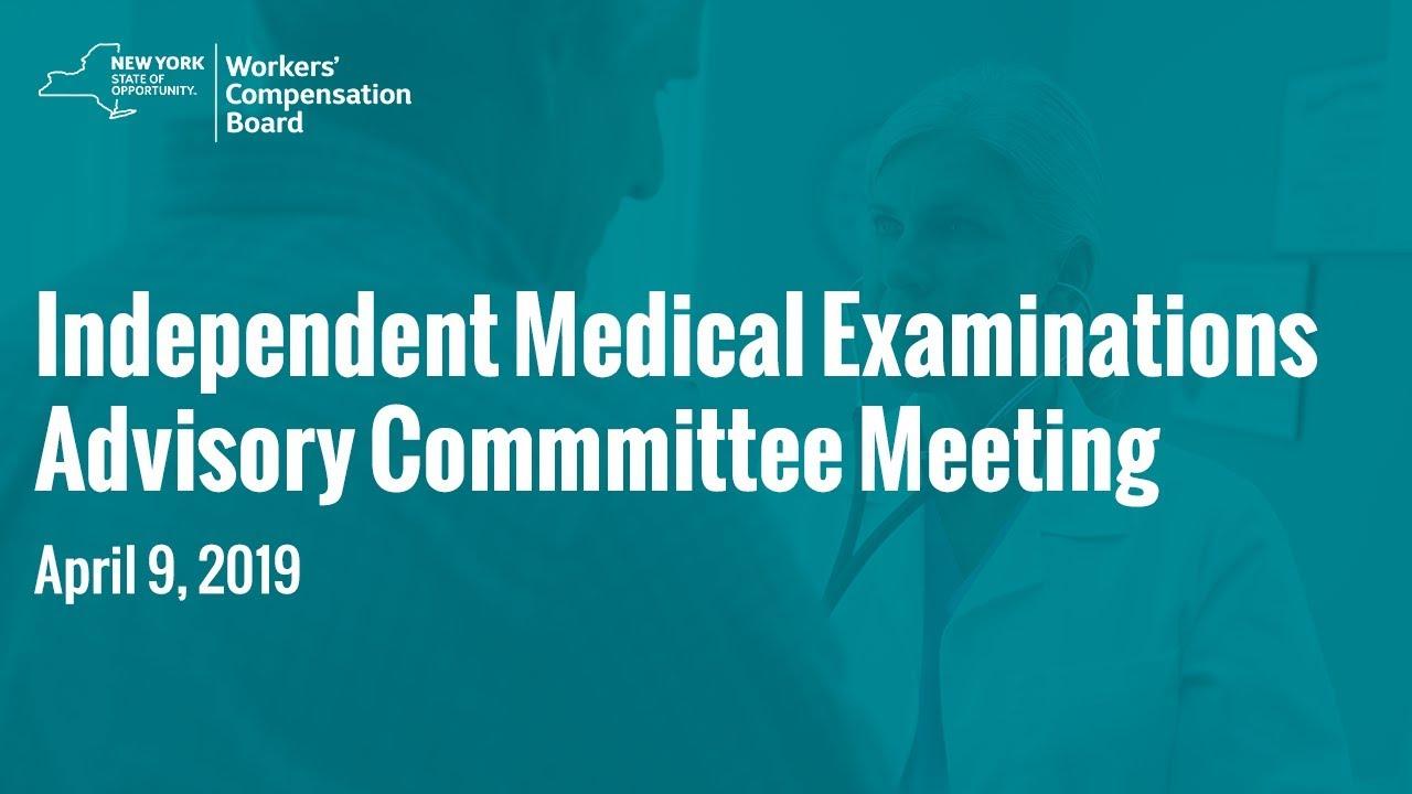 IME Advisory Committee Meeting: April 4, 2019