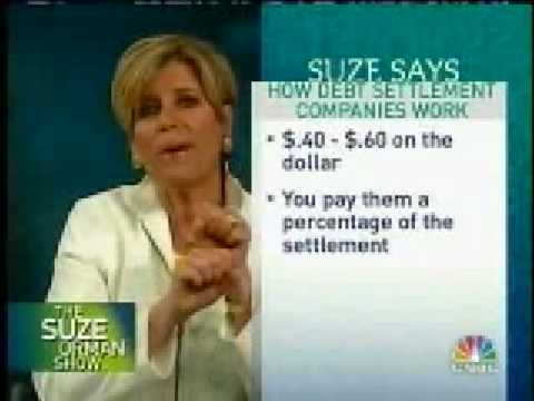 Suze Orman's Debt Consolidation Tips