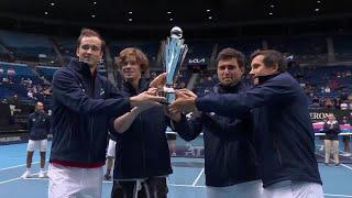 Сборная России выиграла престижный Кубок Ассоциации теннисистов профессионалов