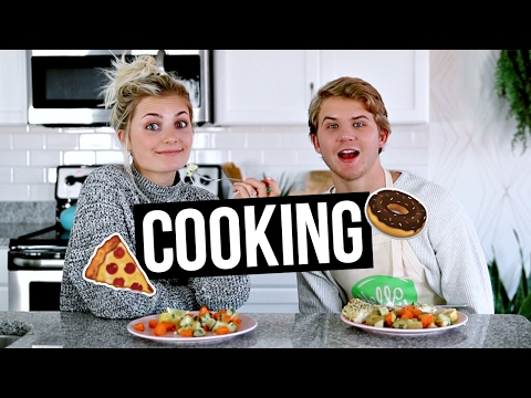 COOKING WITH ASPYN AND PARKER EPISODE 2!