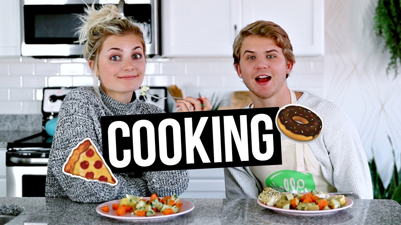 cooking with my mom
