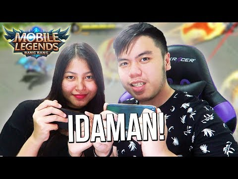 NGAJARIN PACAR MAIN ML AMPE JAGO!?!? INILAH YANG TERJADI ! - Mobile Legends Indonesia #62