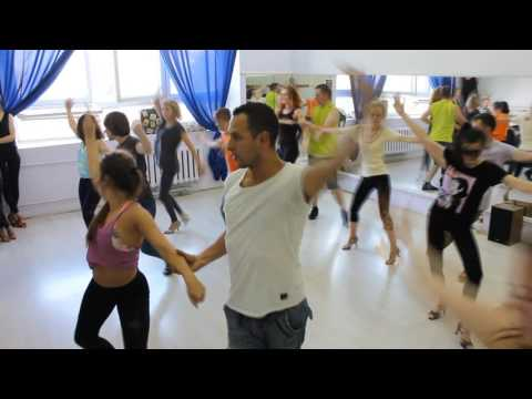 Choreography classes with Azael and Melitta @ Minsk, Belarus