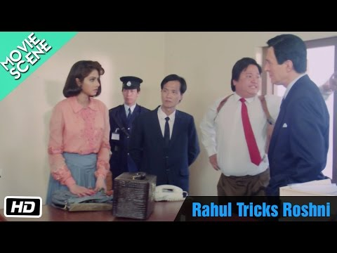 Rahul Tricks Roshni - Movie Scene - Sridevi, Rahul Roy
