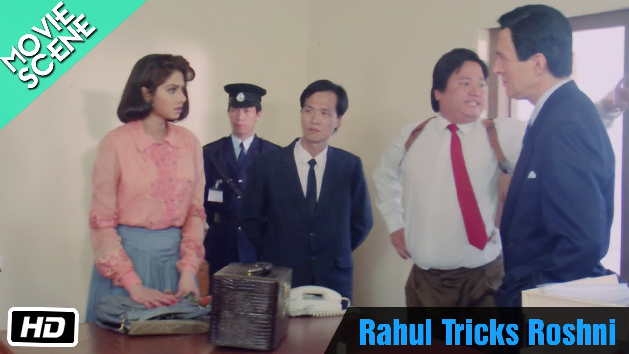 Download Rahul Tricks Roshni - Movie Scene - Sridevi, Rahul Roy