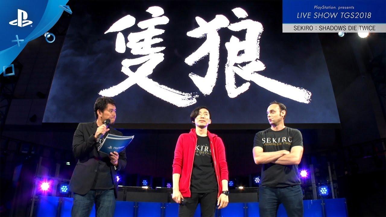 Sekiro Shadows Die Twice Playstation Presents Live Show Tgs2018