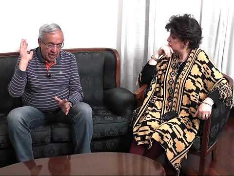 Nota a Santiago Godoy-programas Gente en Casa Canal 10 y Una Vuelta de Página Cable Visión
