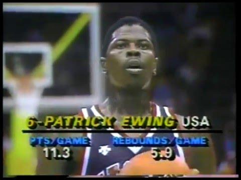 Olympics - 1984 Los Angeles - Basketball - Mens Qualifying - USA VS Spain - Part 2 Imasportsphile
