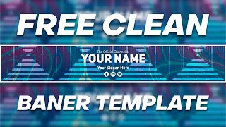 Free Clean Banner Template New | DRAGSTER