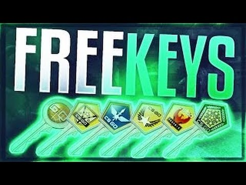 how to get cs go case keys for free