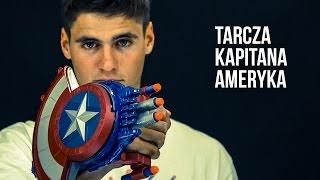 Nerf Marvel - Tarcza Kapitana Ameryki z wyrzutnią Nerf
