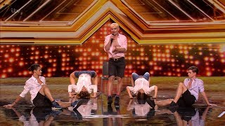The X Factor UK 2018 Ivo Dimchev Auditions Full Clip S15E03