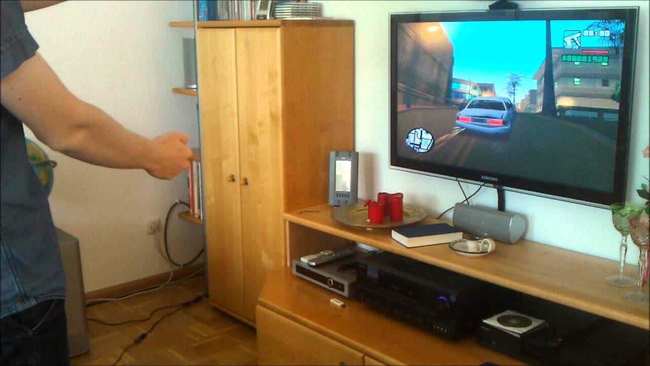 Gta San Andreas Using Kinect 1