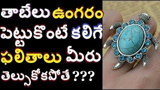 తాబేలు ఉంగరం పెట్టుకొంటే ఇక మీకు తిరుగేలేదు విజయం/ Tortoise Ring Benefits in telugu info media facts