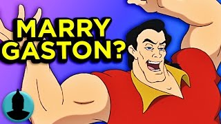 Should Belle Have Married Gaston Instead of Beast?! (ToonedUp #209) | ChannelFrederator