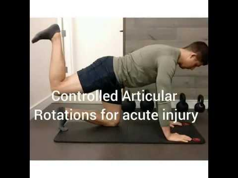 Controlled Articular Rotations for Acute Injury