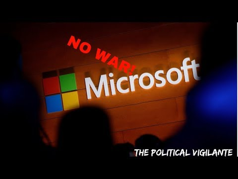 Anti War Movement Spreads Among Tech Workers— The Political Vigilante