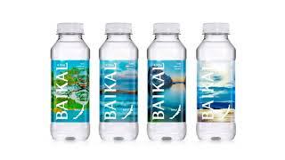 Реклама байкальской воды в Южной Корее