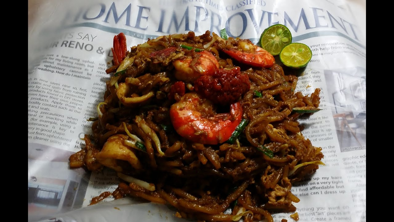 how to make hokkien noodles from scratch