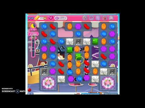 Candy Crush Level 1784 help w/audio tips, hints, tricks